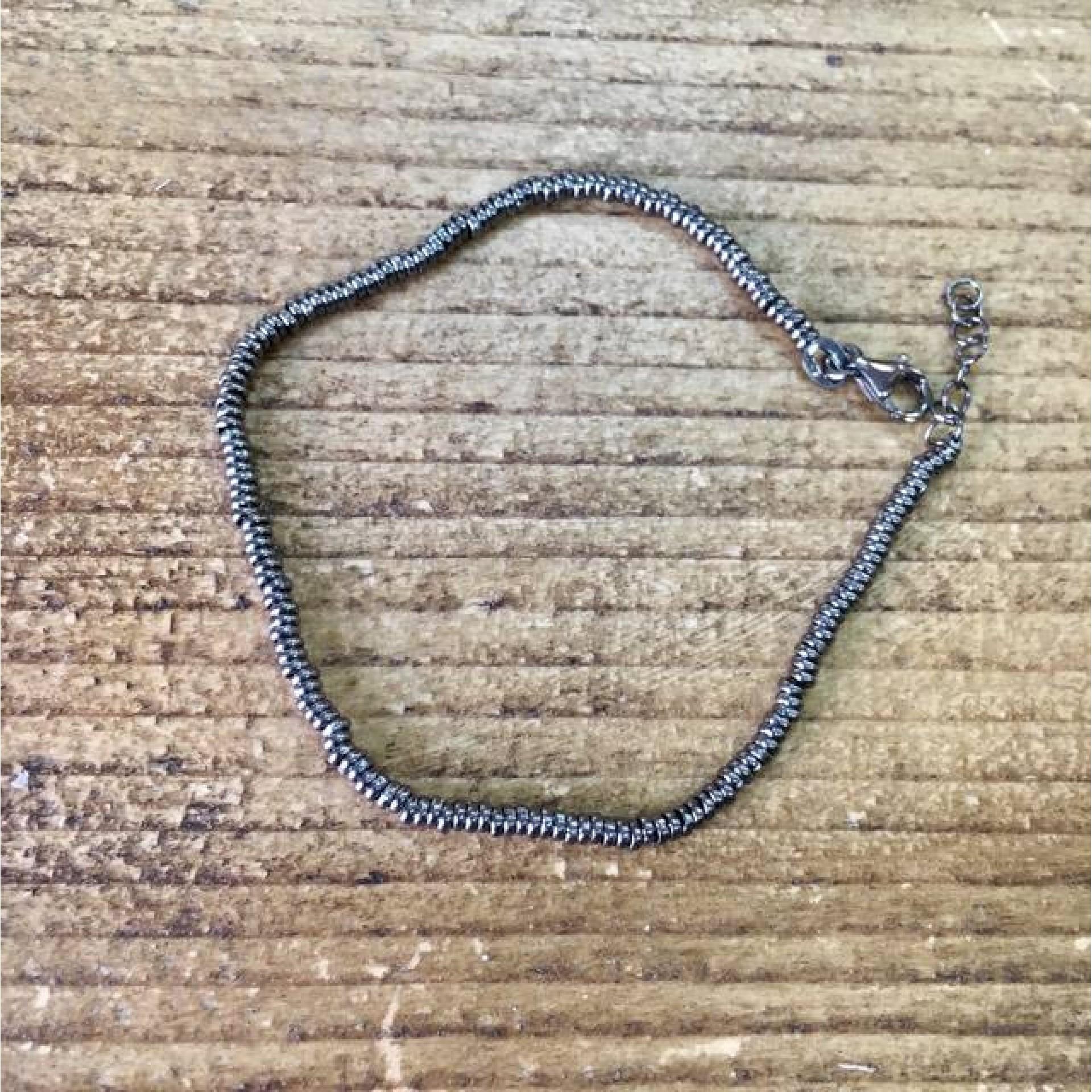 Black Caprice silver bracelet
