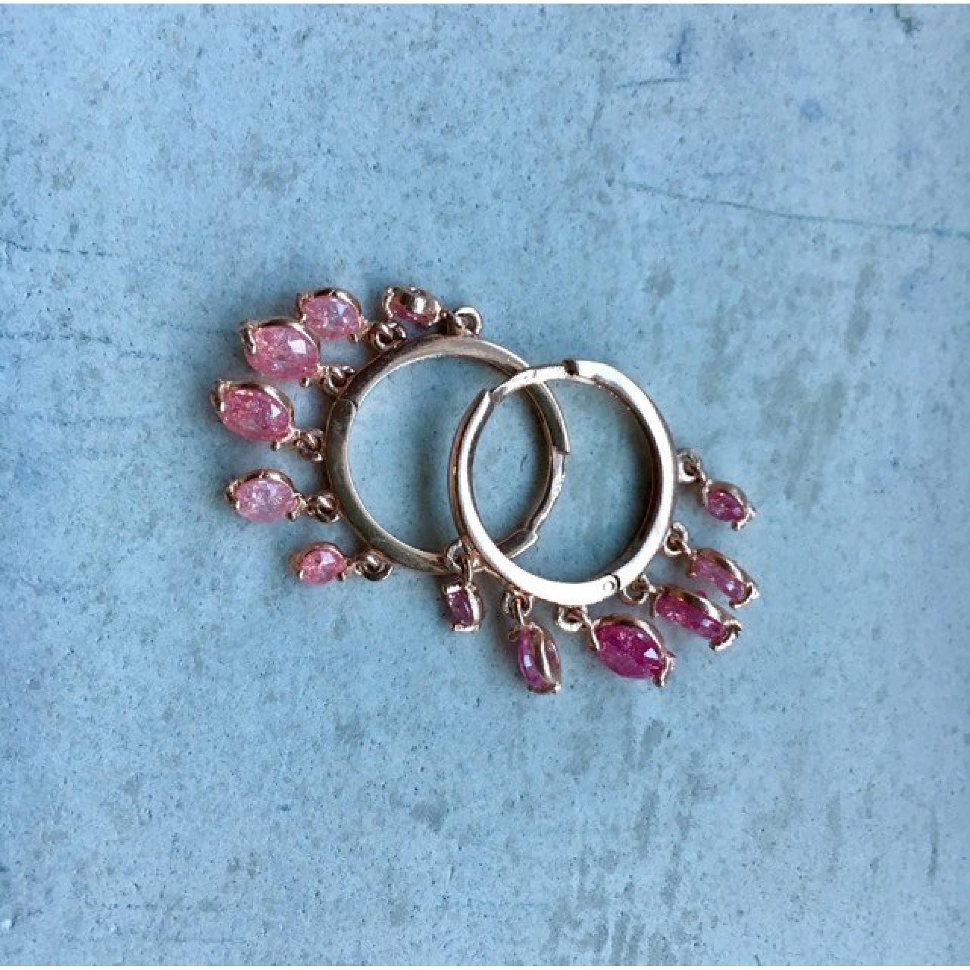 The Rose's silver earrings