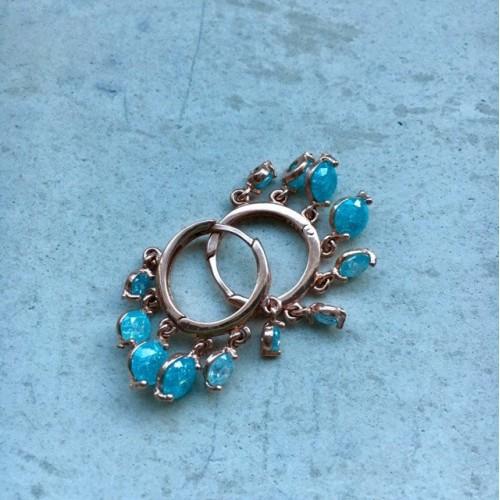 The Blue's mini earrings