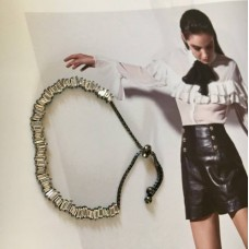 The Black & White silver bracelet