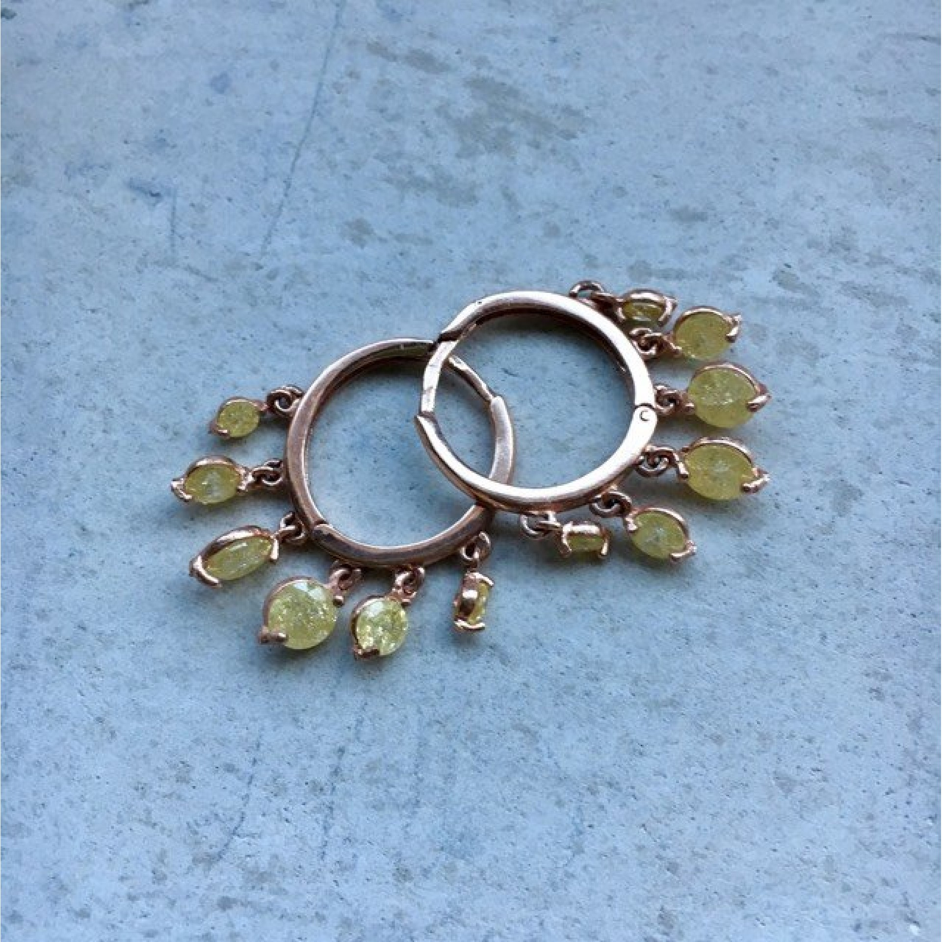 The Yellow's silver earrings