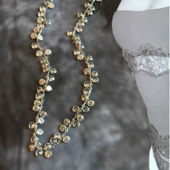 The Stardust silver necklace