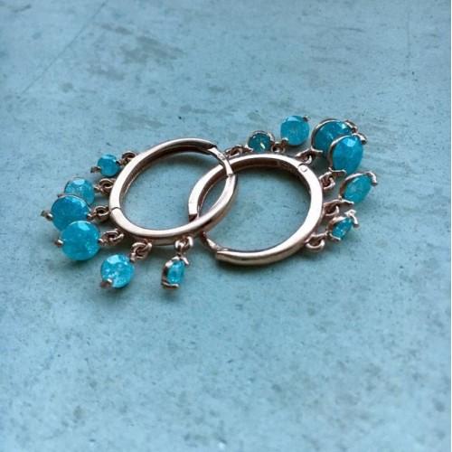 The Blue's earrings