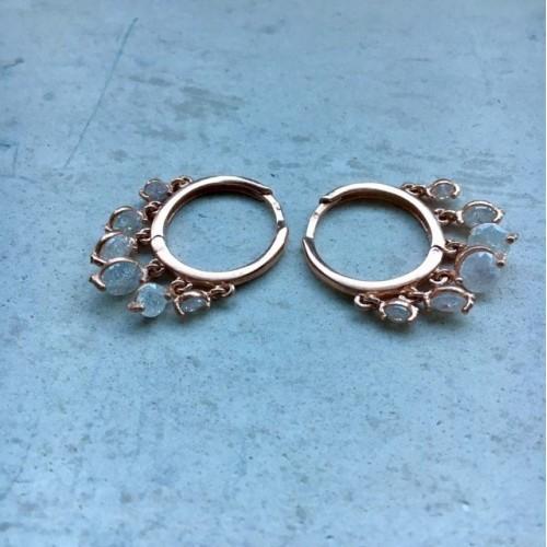 The White's earrings