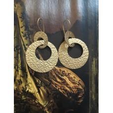 """""""The Avva in gold"""" silver earrings"""