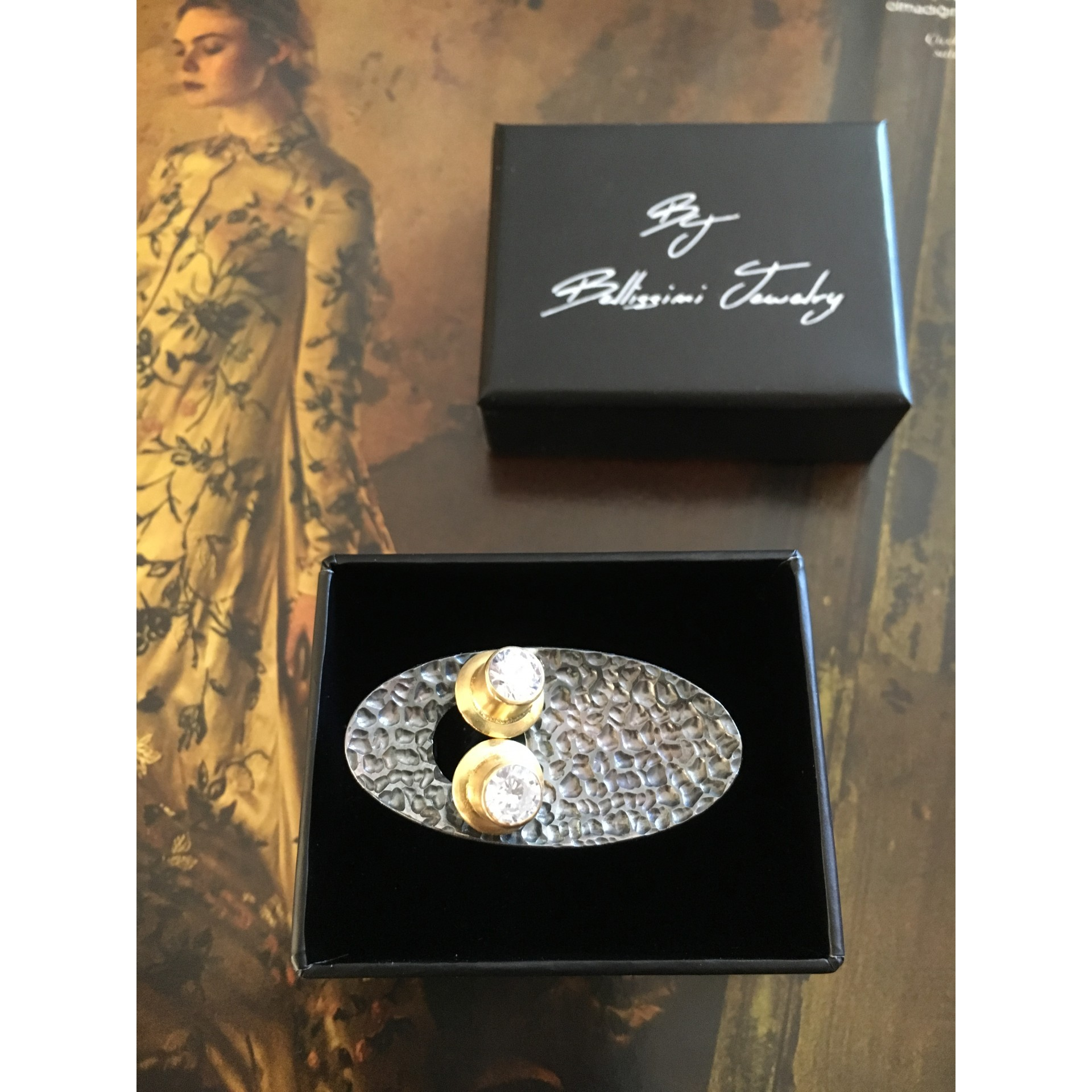 """The Avant-garde"" silver ring"