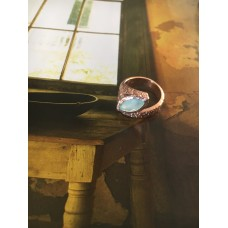 """""""The Opal"""" silver ring"""