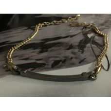 The Black and Gold silver bracelet for men
