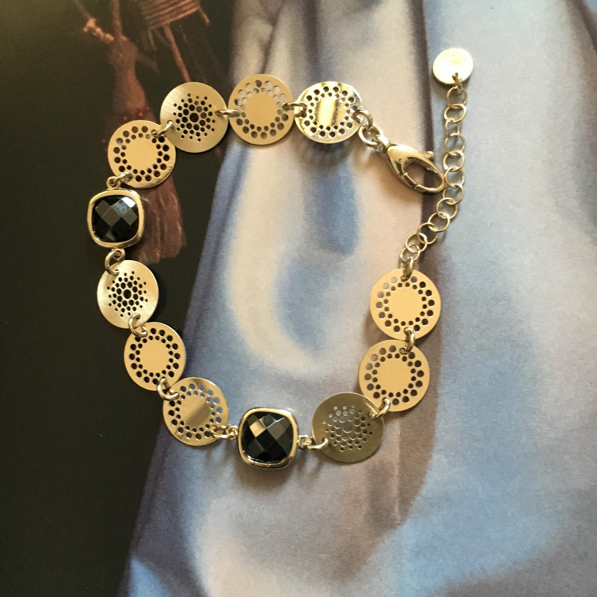 The Vintage Charm II silver bracelet