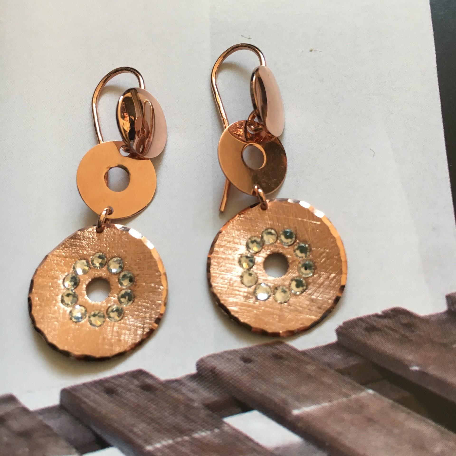 The Charm mini II silver earrings