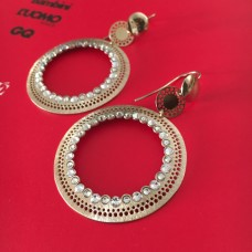 The Ethnic in Gold silver earrings