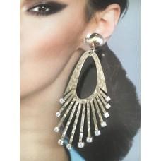 The Romance silver earrings