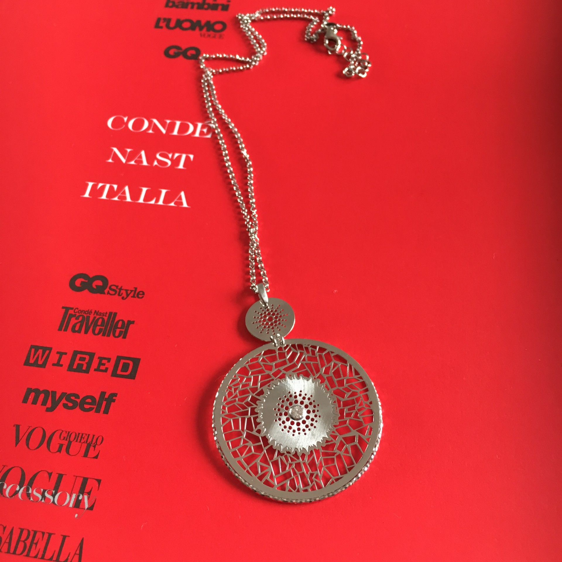 The Keep Dreaming silver necklace