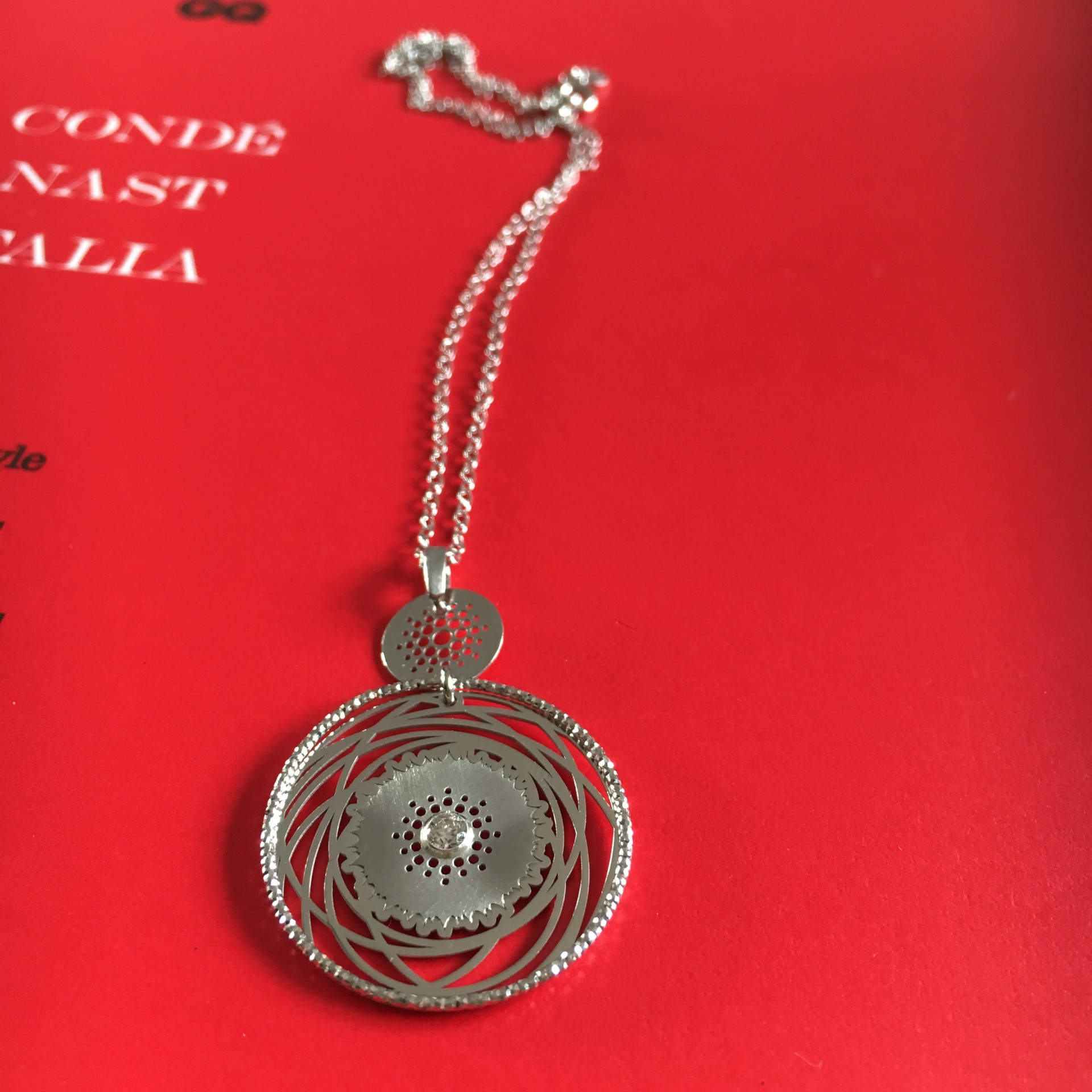 The Keep Dreaming II silver necklace