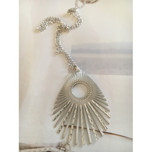 """""""The Nymph"""" silver necklace"""
