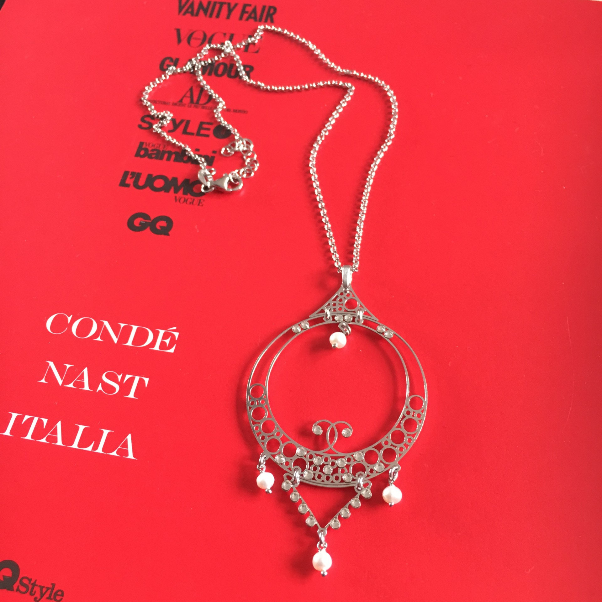 The Vintage II silver necklace