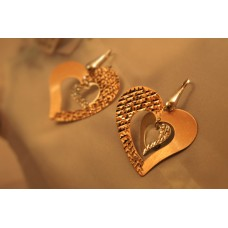 The Magical Hearts silver earrings