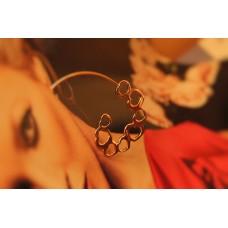 The Tender Hearts silver earrings