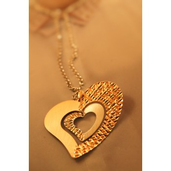 The Magical Hearts silver necklace