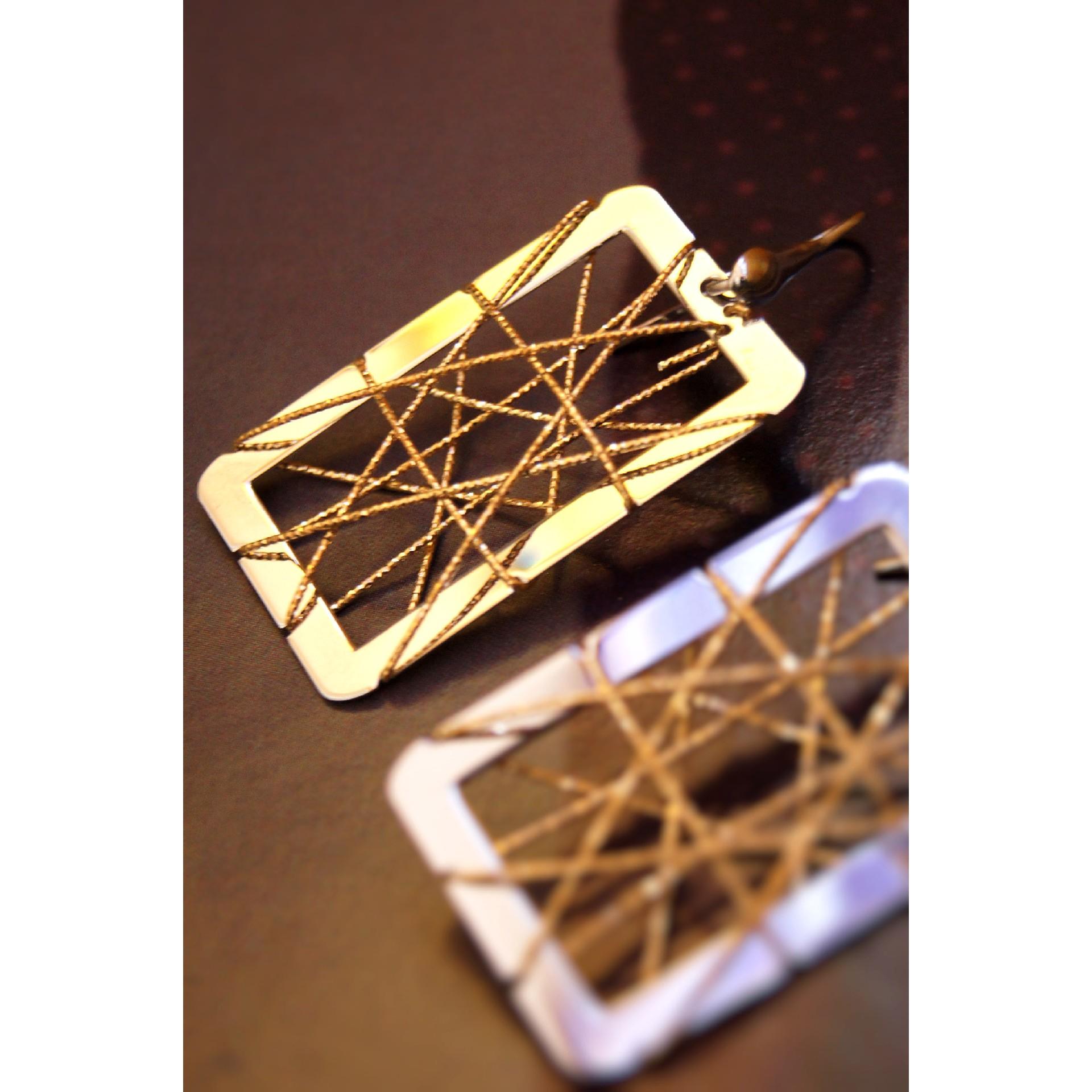 The Aria silver earrings