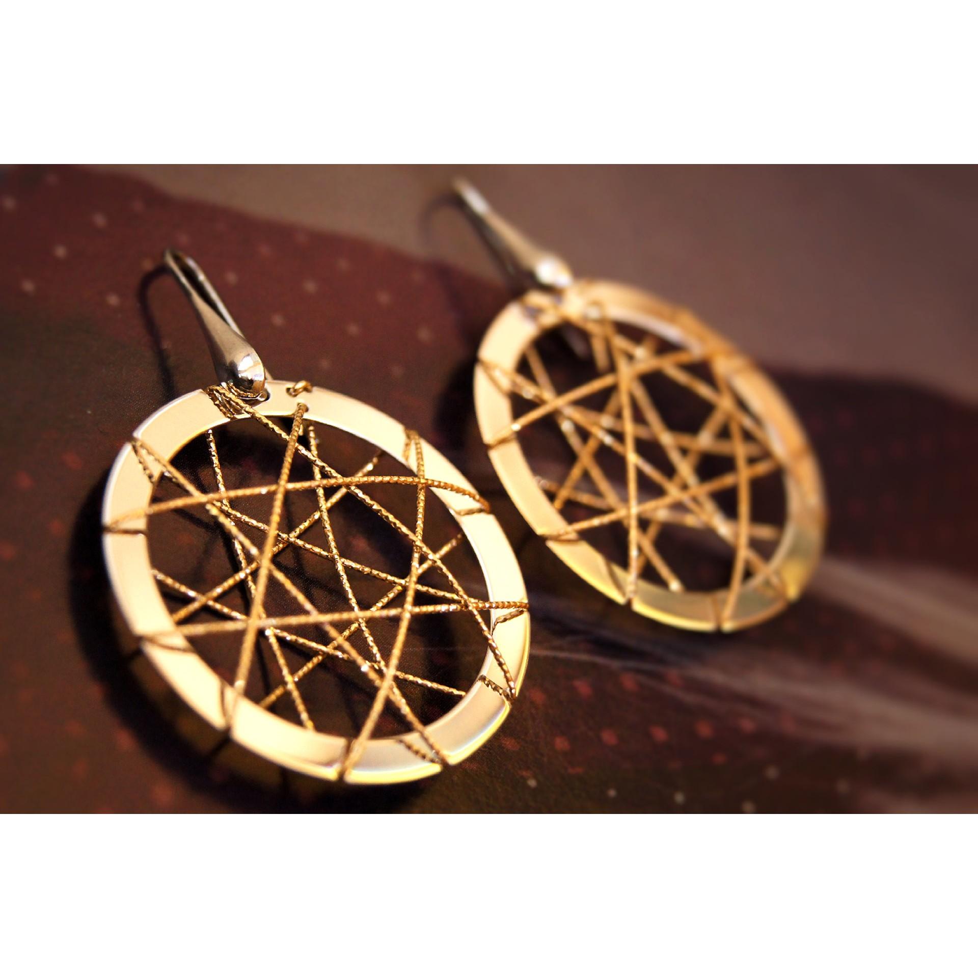 The Avia silver earrings