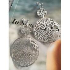 The Silver Grace silver earrings