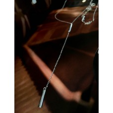 The Diva silver necklace