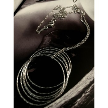 The Endless silver necklace