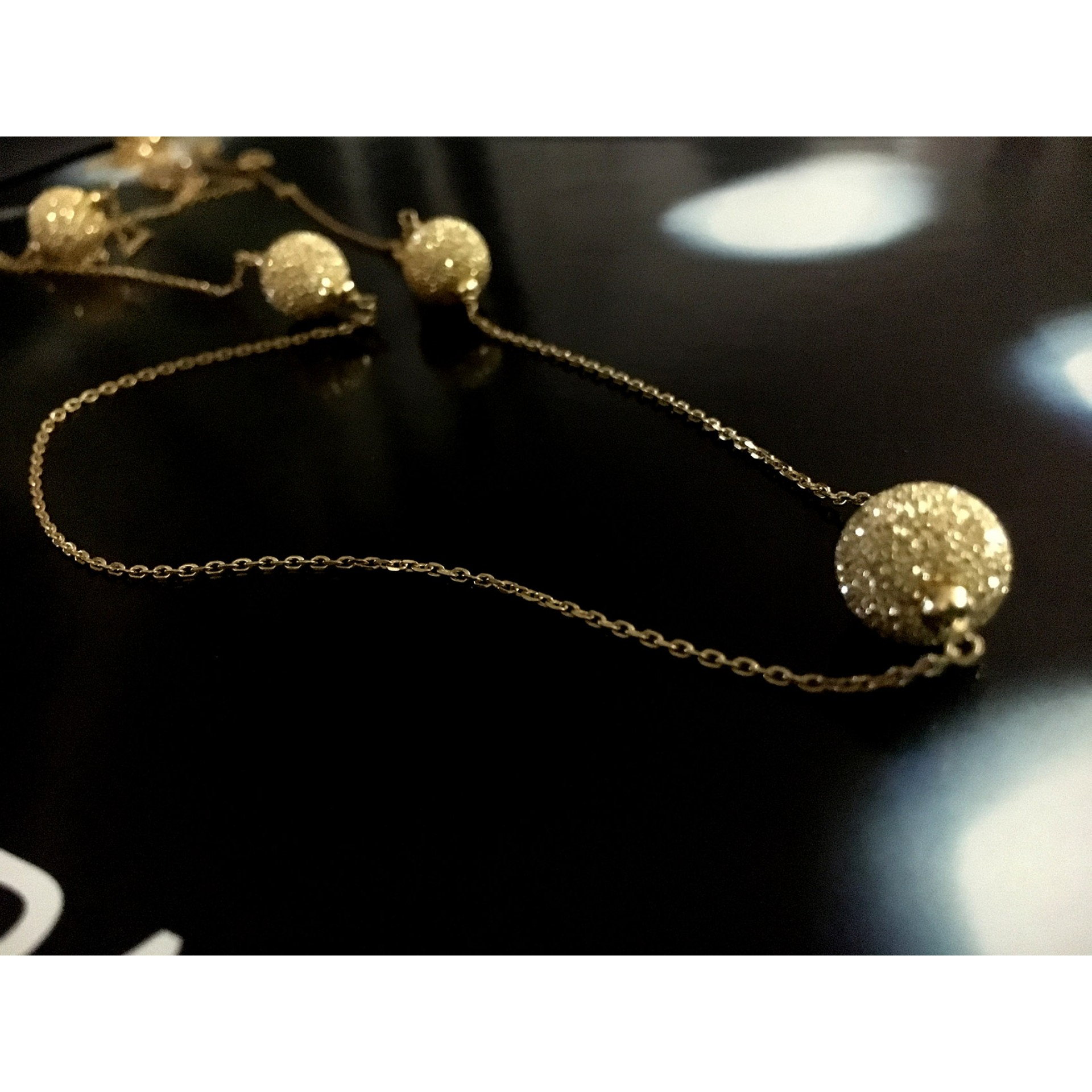 The Magic in Gold silver necklace