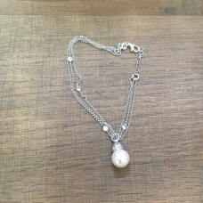 The Pearls Perfection silver bracelet