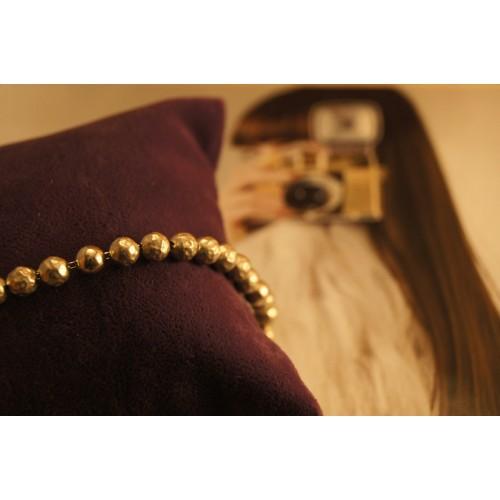 The Golden Balls silver bracelet