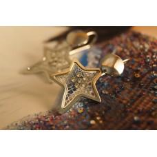 The Star-Addiction silver earrings
