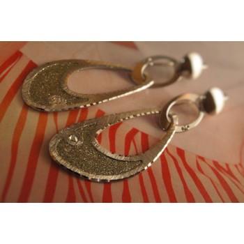 The Allurement silver earrings
