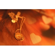 The Amore silver necklace