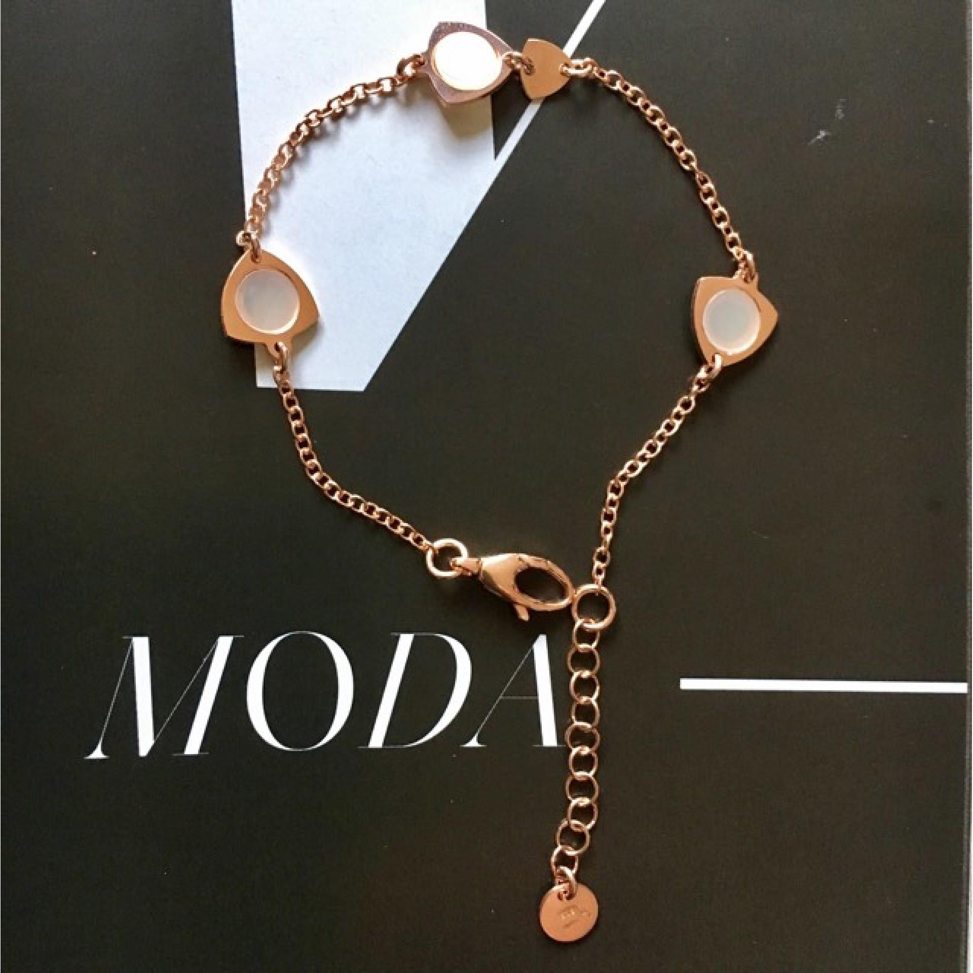 Moda III silver bracelet