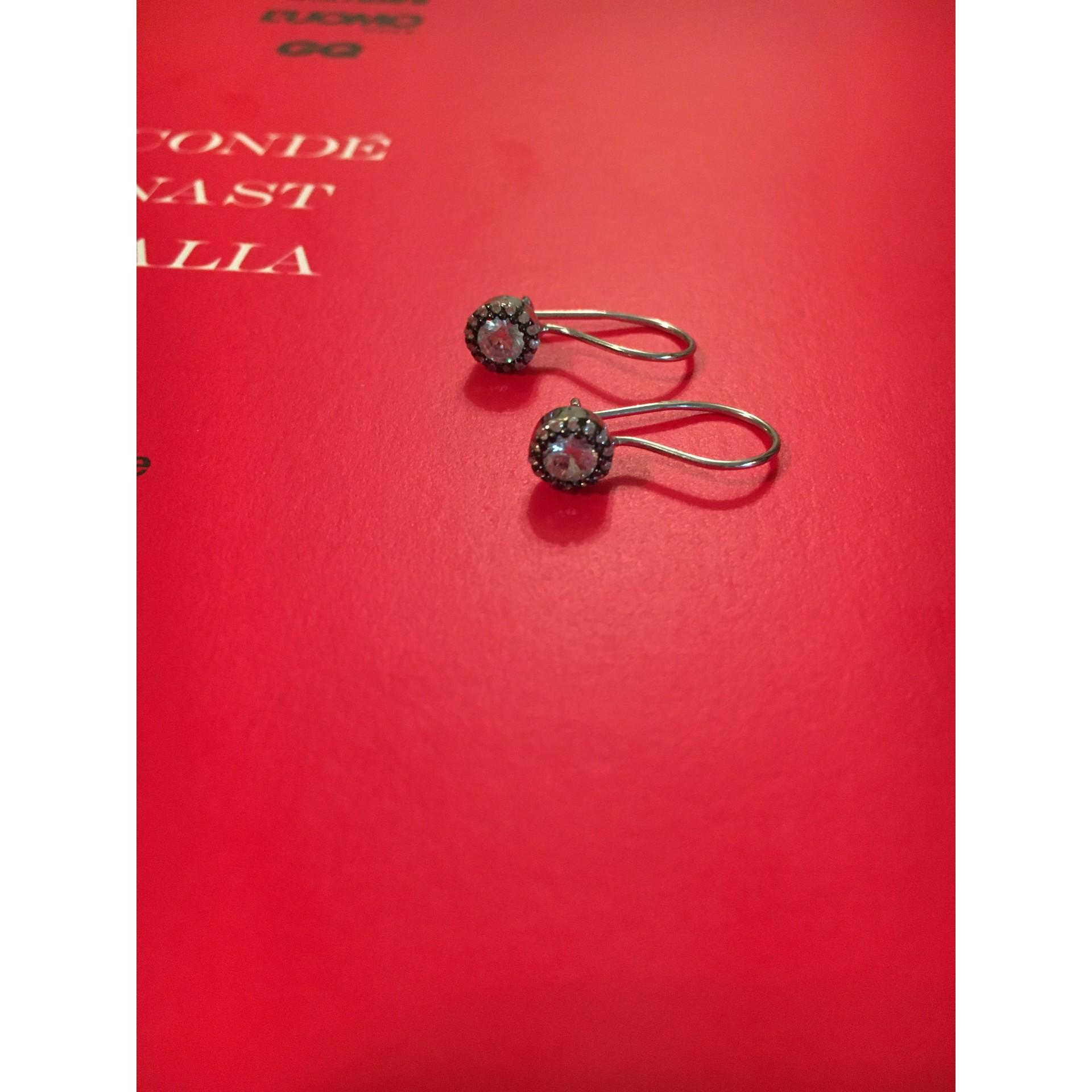 Morning Charm silver earrings