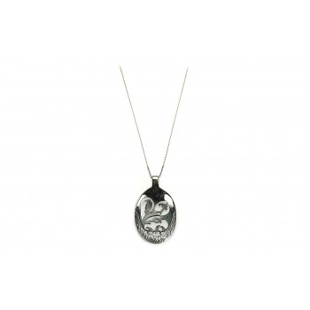 Sterling Silver Birds silver necklace