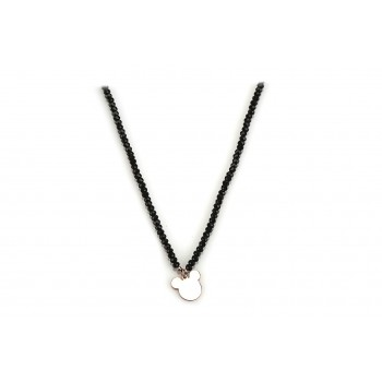 Mickey Mouse silver necklace